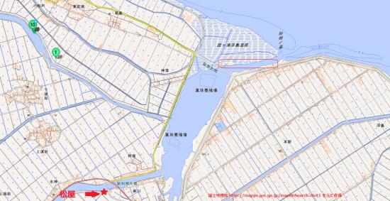 霞ヶ浦の妙技水道