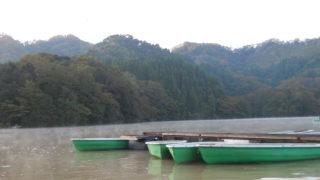 11月の戸面原ダム