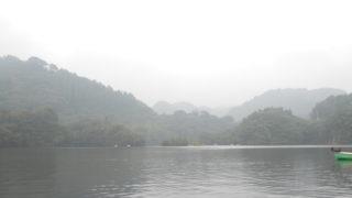 梅雨明け真夏の戸面原ダム