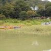 夏・津久井湖・満水